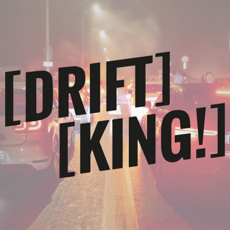 Drift King - Naklejka